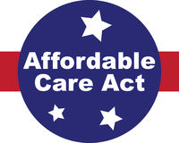 Affordable Care Act icon vector graphic Royalty Free Stock Photography