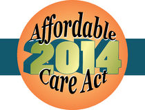 Affordable Care Act 2014 Stock Image