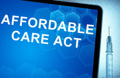 Affordable Care Act Royalty Free Stock Photos