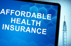 Affordable health insurance Stock Photography