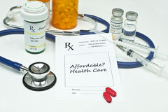 Affordable Healthcare Royalty Free Stock Images