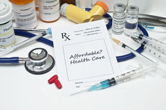 Affordable Healthcare Stock Photo