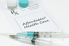 Affordable Healthcare Royalty Free Stock Photos