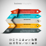 Affär Infographic Arkivbilder