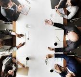 Affär Team Meeting Planning Strategy Concept Royaltyfri Bild