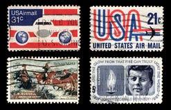 Affrancatura degli Stati Uniti Fotografia Stock