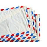 affranchissement de lettre d'enveloppe Photos stock