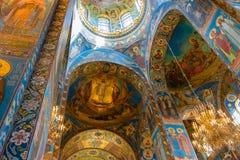 Affreschi della cattedrale Fotografie Stock Libere da Diritti