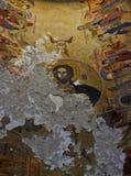 Affresco antico di Jesus Christ Fotografie Stock Libere da Diritti