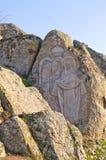 Affresco del granito di Maria nubile Fotografia Stock Libera da Diritti