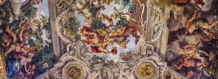 Affresco Del Soffitto In Palazzo Barberini, Roma, Italia Fotografia Editoriale - Immagine: 59214916