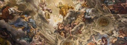 Affresco Del Soffitto In Palazzo Barberini, Roma, Italia Fotografia Editoriale - Immagine: 59214161