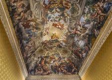 Affresco Del Soffitto In Palazzo Barberini, Roma, Italia Fotografia Editorial...