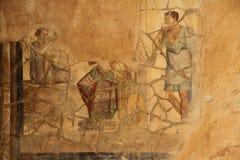 Affresco di Pompei Fotografia Stock