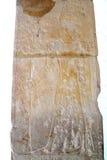 Affresco nel tempio di Hatshepsut Fotografie Stock Libere da Diritti