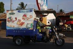 Affrettandosi a Mombasa Immagini Stock Libere da Diritti