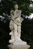Affrica Statue. Statue of man with serpent and lion Stock Photography
