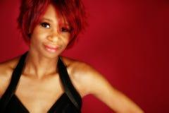 affrican американская красивейшая женщина стоковое фото rf