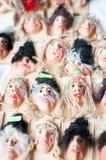 Affronta i ninnoli Fotografia Stock