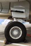 Affrontez les aéronefs légers de train d'atterrissage Images libres de droits
