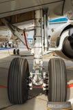 Affrontez les aéronefs légers de train d'atterrissage Photographie stock