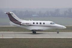 AffärsJet Hawker Beechcraft 390 premiärminister Arkivbilder