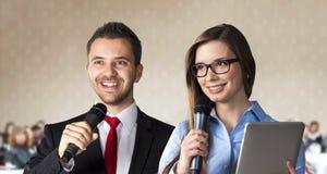 Affärskonferens Arkivfoton