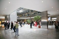 affärskorridor Arkivbilder
