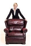 Affärskvinna Royaltyfri Foto