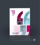 Affärsvektor Broschyrmallorienteringen, täcker modern design a Royaltyfri Foto