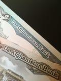 Afgański afghani Obrazy Stock