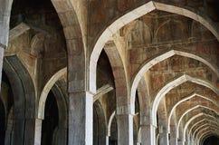 Afgan architecture in India. Afgan architecture in Jama Masjid - old mosque in Mandu, India stock images