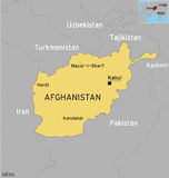 Afganistan Map Stock Photos