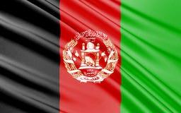 afganistanie flagę ilustracji