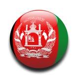 afganistanie flagę Fotografia Royalty Free