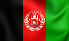 afganistanie flagę Obraz Stock