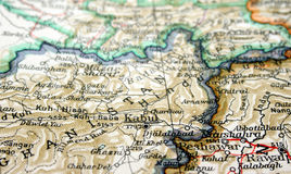 afganistanie Kabulu Zdjęcie Stock