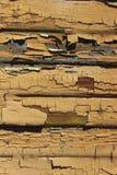 Afgebroken Verf op een Muur Stock Afbeelding