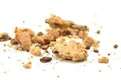Afgebrokkeld koekje Royalty-vrije Stock Foto's