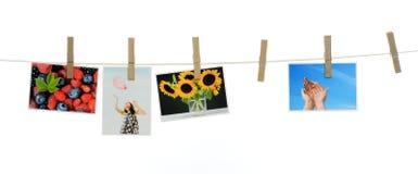 Afgedrukte foto's Stock Foto