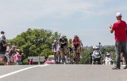 Afgescheiden - Ronde van Frankrijk 2017 Royalty-vrije Stock Afbeelding