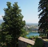 Afgetapt meer, Slovenië Royalty-vrije Stock Afbeeldingen