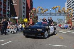 Afgevaardigde Chief tijdens 117ste Gouden Dragon Parade Royalty-vrije Stock Afbeeldingen