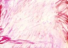 Afgeveegde watercolour textuur Royalty-vrije Stock Fotografie