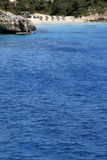 Afgezonderd strand op Majorca Royalty-vrije Stock Fotografie