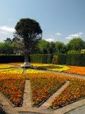 Afgezonderde tuin bij St Fagans, Cardiff royalty-vrije stock afbeelding