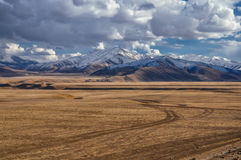 afghan berg royaltyfri foto