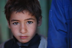 Afghan boy. At a market in Azra district, Logar province, Afghanistan, December 2009 Stock Photography