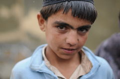Afghan boy Stock Images