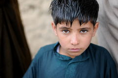 Afghan boy. An Afghan Boy in the Altimur village, Logar Province, Afghanistan, summer 2011 Royalty Free Stock Photography